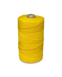 Corda Polipropileno 3,0 mm x 190 metros Amarela Rolo - Okubo