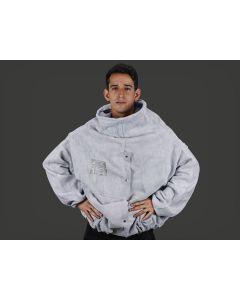 Blusão tipo JATISTA - Em raspa, 80 cm - Zanel