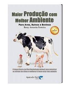 MAIOR PRODUÇÃO COM MELHOR AMBIENTE - PARA AVES SUÍNOS E BOVINOS R$119,00