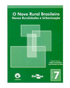 Novo Rural Brasileiro, O - Vol. 7 - Novas Ruralidades e Urbanização    R$20,00