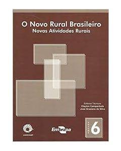 Novo Rural Brasileiro, O - Vol. 6 - Novas Atividades Rurais  R$25,00