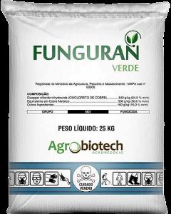 FUNGURAN VERDE- Oxi- cloreto de Cobre