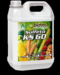 Fertilizante - Sulfeto Ks60 (Galão de 5 litros) - Agrobiotech