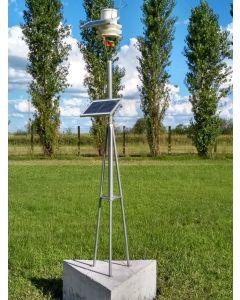 Estação meteorológica ECOFLEX Wi-Fi Solar C/ PLUV C/ SENS VENTO C/ SOFT MOBILE - WIDITEC QUALYAGRO