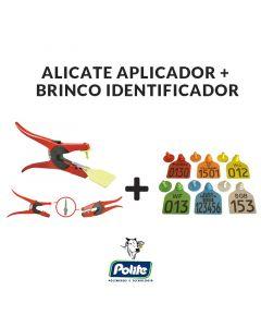 KIT BRINCO DE IDENTIFICAÇÃO COM ALICATE APLICADOR - Polite