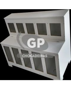 EXPOSITOR DE RAÇÃO RET - GP Chocadeiras